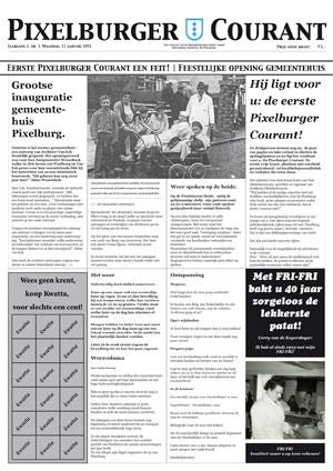 Pixelburger Courant 1