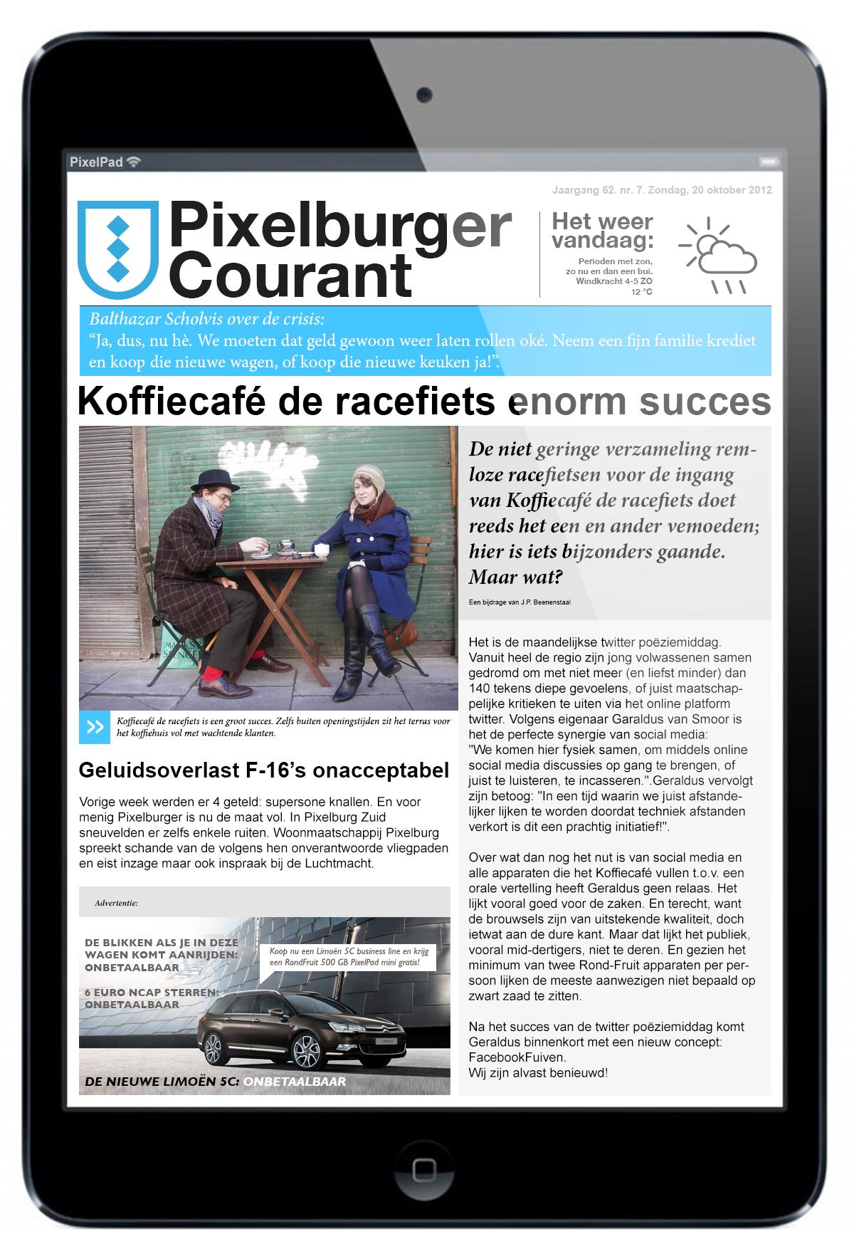 Pixelburger Courant 7